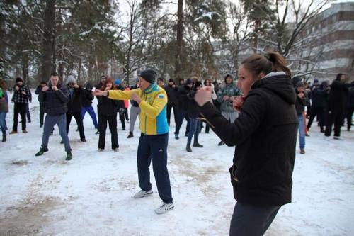 Всеукраинский Антинаркотический лагерь. День третий.