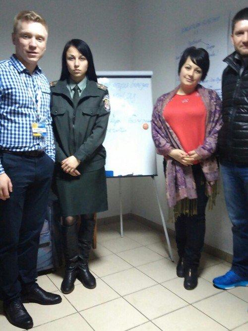 Центр Здоровой Молодежи - Украина Лекция-семинар в Житомире