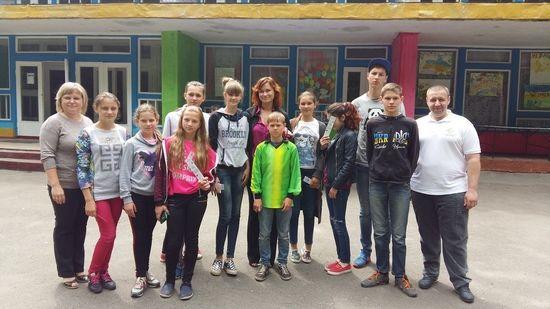 Арттерапия, против наркомании, с подростками в Житомире