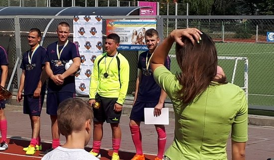 Центр Здоровой Молодежи - Украина У Вінниці відбувся турнір з міні-футболу