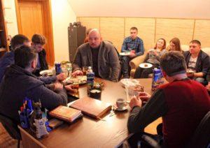 Центр Здоровой Молодежи - Украина Приїзд учасника 95-го кварталу в ЦЗМ