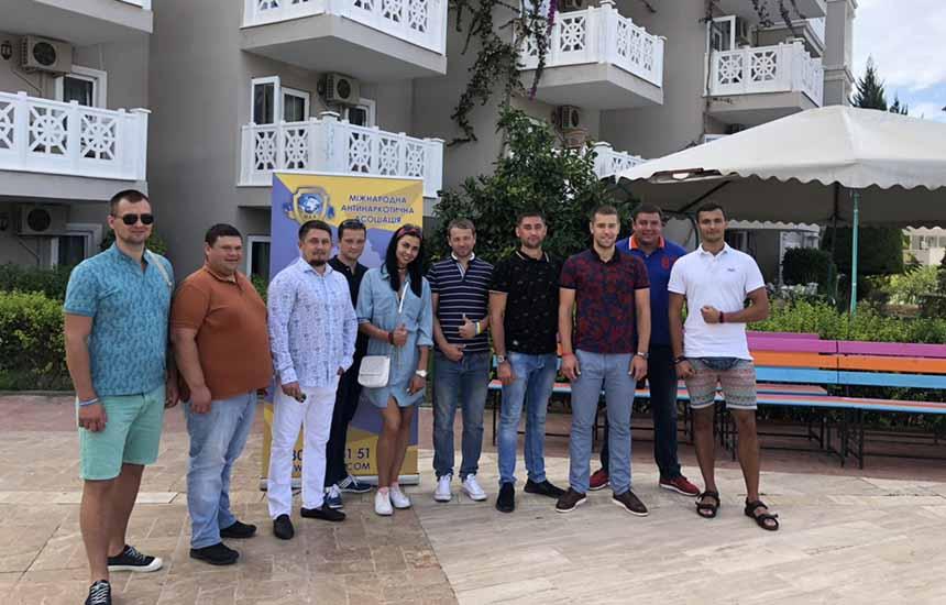 Центр Здоровой Молодежи - Украина Перший терапевтичний табір у Турції