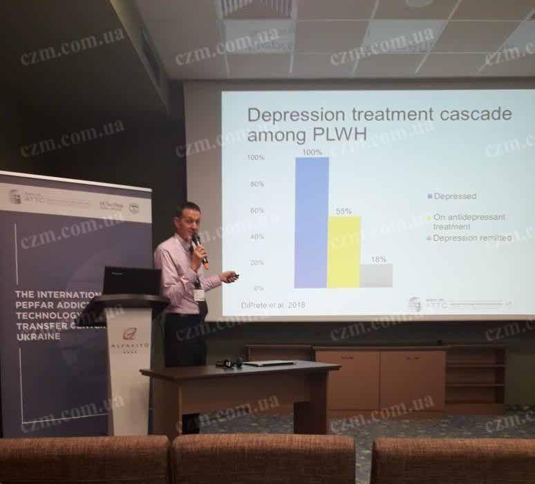 Центр Здоровой Молодежи - Украина Депрессия у ВИЧ позитивных : профессиональный взгляд