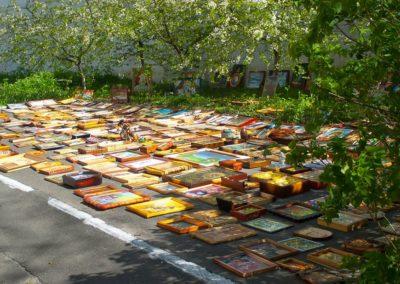 Центр Здоровой Молодежи - Украина Арт - виставка під відкрітім небом.