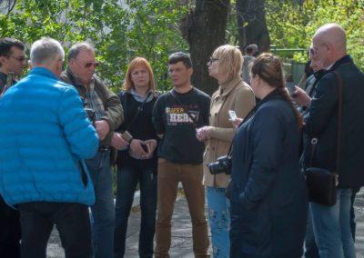 Центр Здоровой Молодежи - Украина Арт - выставка под открытым небом.